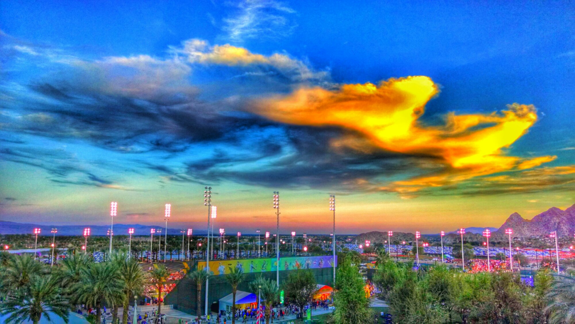 image the bnp paribas open at the indian wells tennis gardens - Indian Wells Tennis Garden